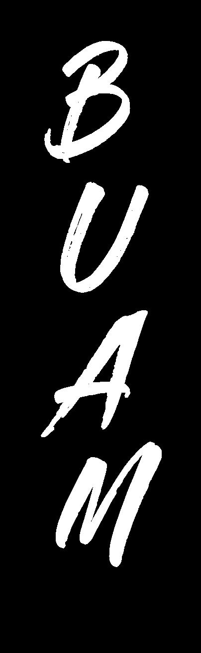Buam Logo white