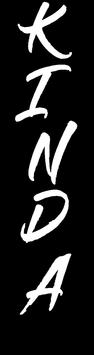 Kinda Logo White