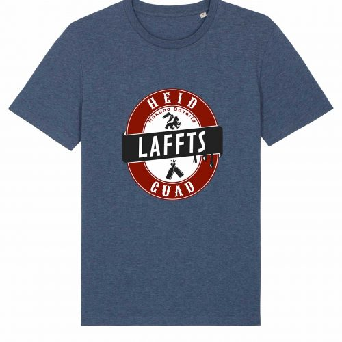 Heid Laffts Guad - Herren T-Shirt - Dunkelblau Gesprenkelt - 3XL