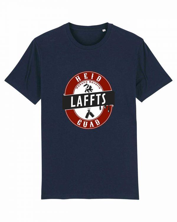 Heid Laffts Guad - Herren T-Shirt - Dunkelblau - 3XL