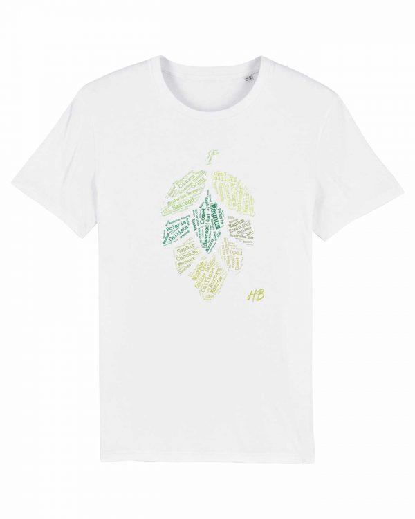 Hopfensorten - Herren T-Shirt - Weiß - 3XL