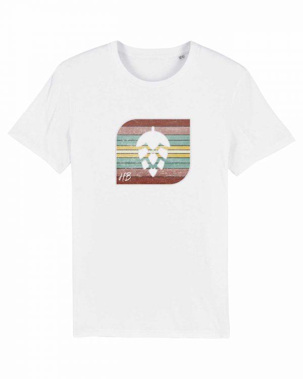 Retro-Hopfendolde - Herren T-Shirt - Weiß - 3XL