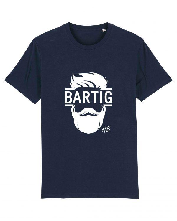 Bartig - Herren T-Shirt - Dunkelblau - 3XL