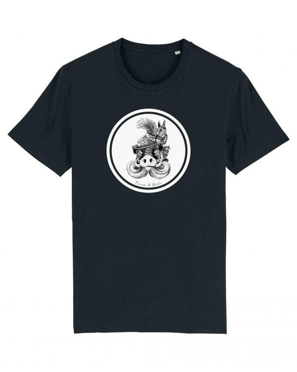 Fonse & Bäda - Herren T-Shirt - Schwarz - 3XL