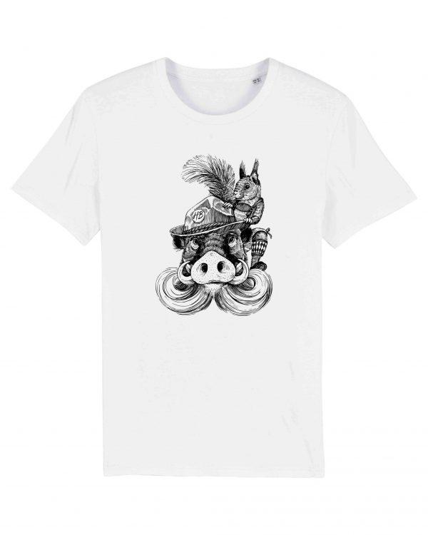 Fonse & Bäda - Herren T-Shirt - Weiß - 3XL