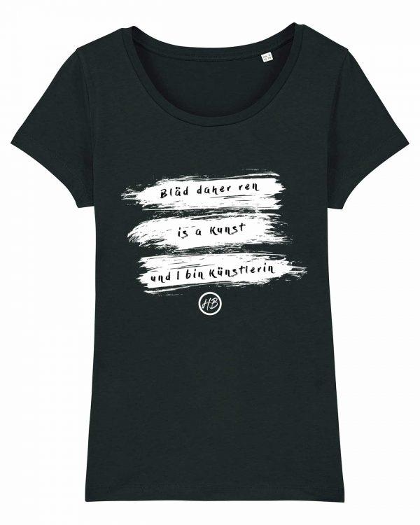 Bläd Daher Ren - Damen T-Shirt - Schwarz - XXL