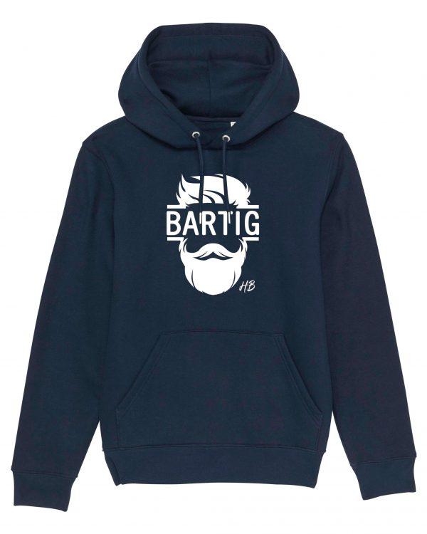 Bartig - Herren Hoodie - Dunkelblau - 3XL