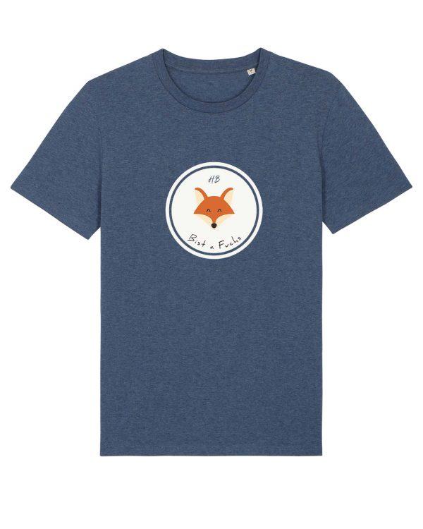 Bist a Fuchs - Herren T-Shirt - Dunkelblau Gesprenkelt - 3XL