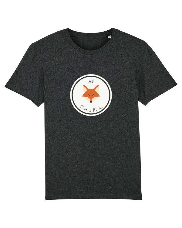 Bist a Fuchs - Herren T-Shirt - Dunkelgrau Gesprenkelt - 3XL