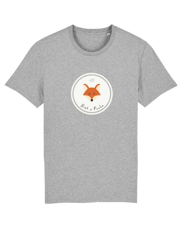 Bist a Fuchs - Herren T-Shirt - Hellgrau Gesprenkelt - 3XL