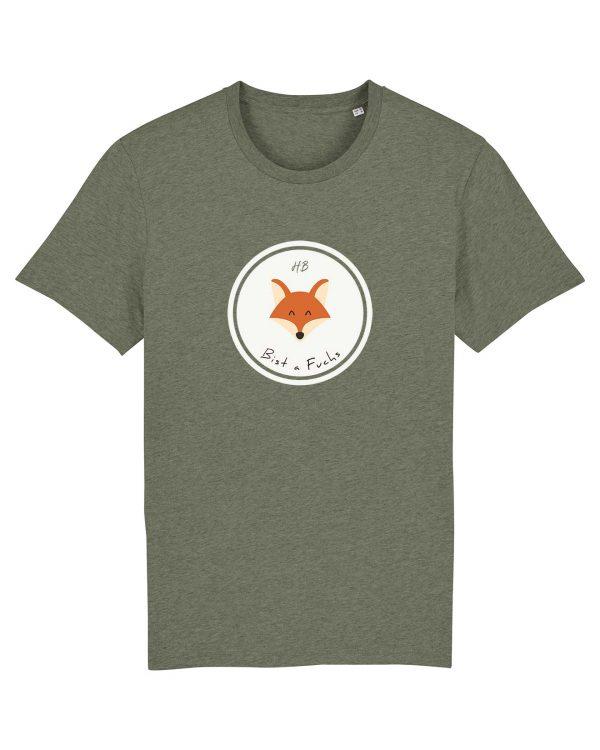 Bist a Fuchs - Herren T-Shirt - Moosgrün Gesprenkelt - 3XL