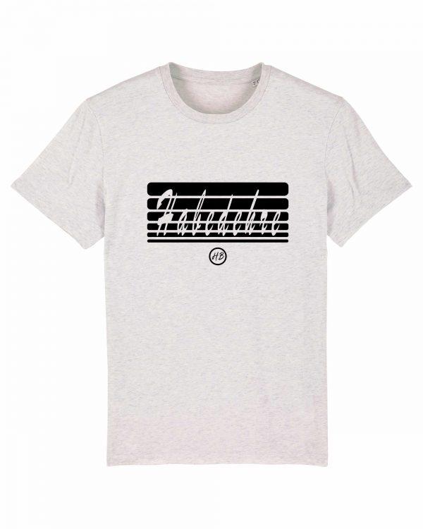 Habedehre - Herren T-Shirt - Weiß Gesprenkelt - 3XL