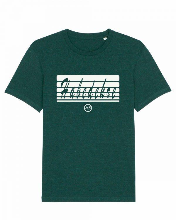 Habedehre - Herren T-Shirt - Dunkelgrün Gesprenkelt - 3XL