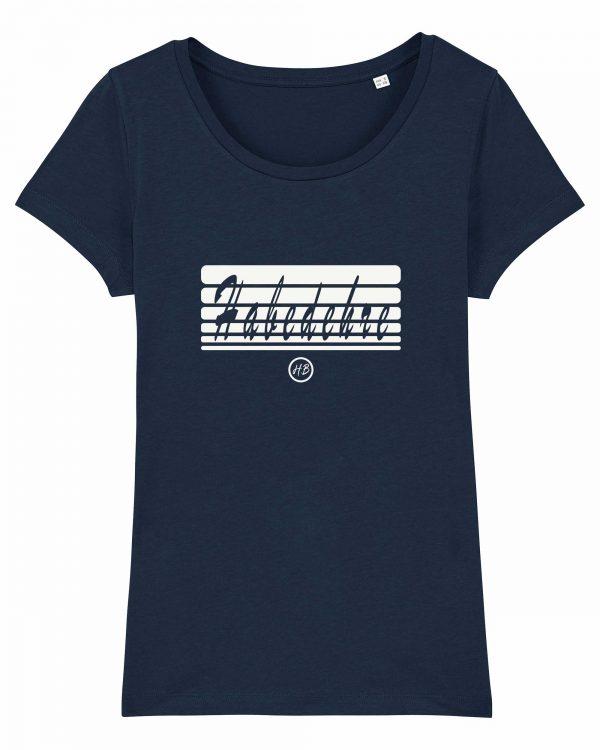 Habedehre - Damen T-Shirt - Dunkelblau - XXL