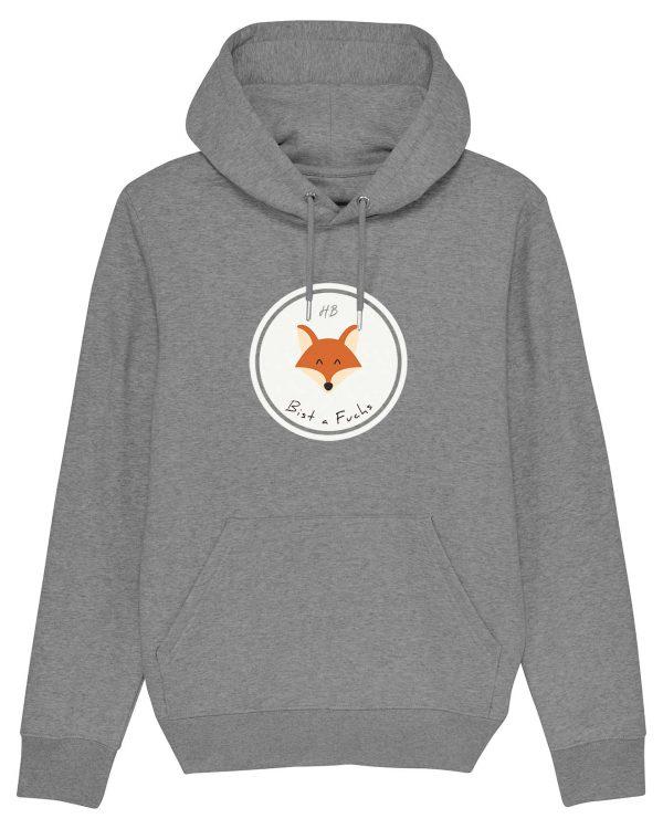 Bist a Fuchs - Herren Hoodie - Grau Gesprenkelt - 3XL