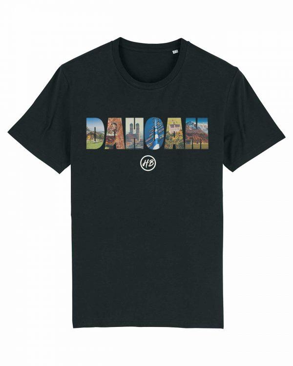 Dahoam - Herren T-Shirt - Schwarz - 3XL