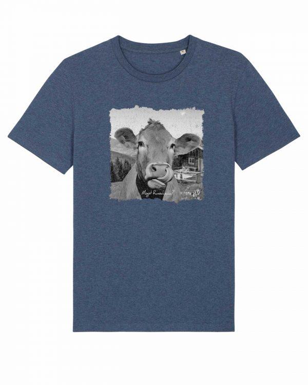 Mogst Rumschlecka - Herren T-Shirt - Dunkelblau Gesprenkelt - XXL