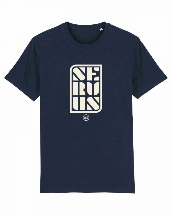 Servus - Herren T-Shirt - Dunkelblau - 3XL