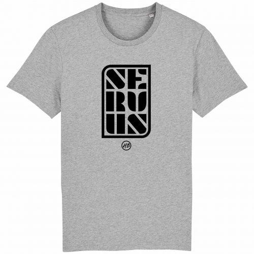 Servus - Herren T-Shirt - Hellgrau Gesprenkelt - 3XL