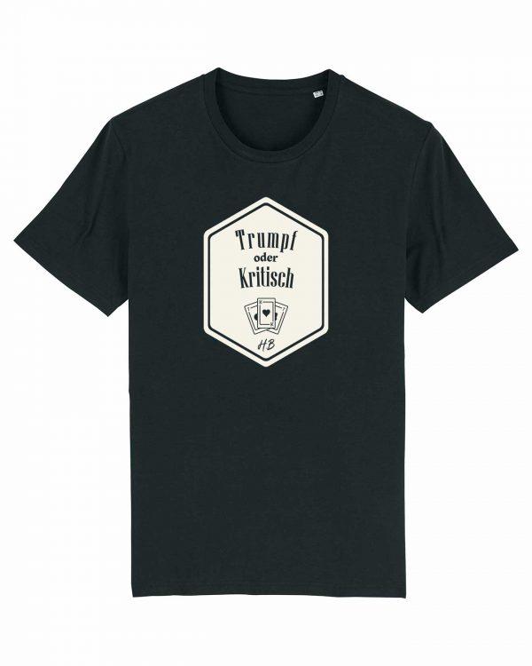 Trumpf oder Kritisch - Herren T-Shirt - Schwarz - 3XL