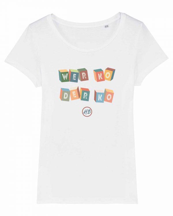 Wer Ko Der Ko - Damen T-Shirt - Weiß - XXL