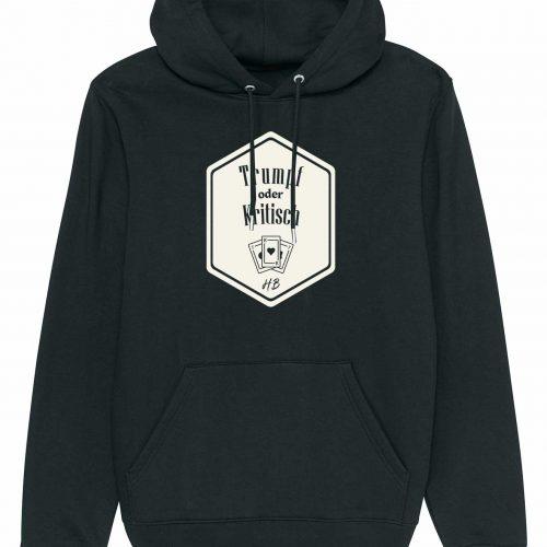 Trumpf oder Kritisch - Herren Premium-Hoodie - Schwarz - 3XL