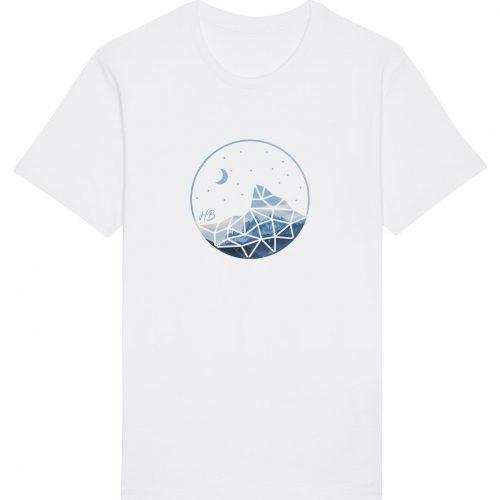 Auffe aufn Berg - Herren Basic T-Shirt - Weiß - 4XL