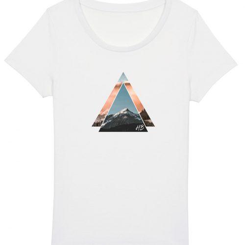Bergzeit - Damen Basic T-Shirt - Weiß - XXL