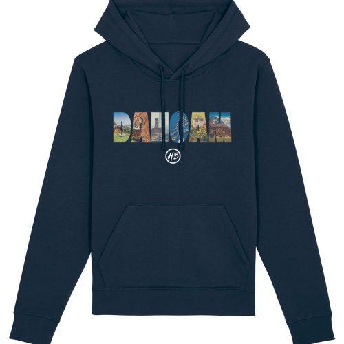 Dahoam - Basic Unisex Hoodie - Dunkelblau - 4XL