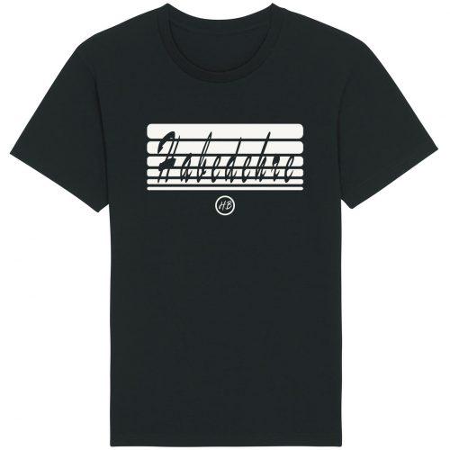 Habedehre - Herren Basic T-Shirt - Schwarz - 4XL