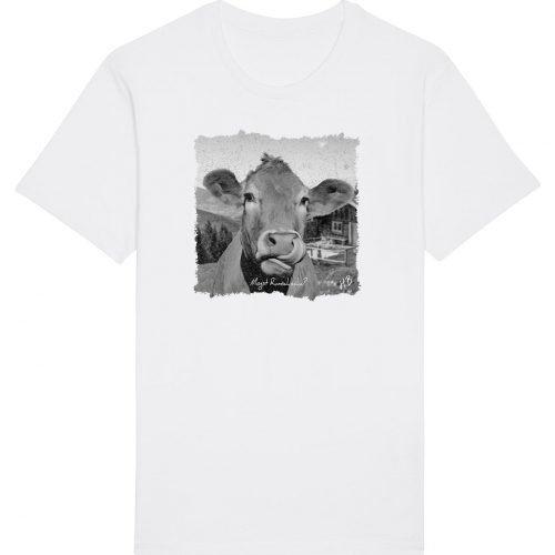 Mogst Rumschlecka - Herren Basic T-Shirt - Weiß - 4XL
