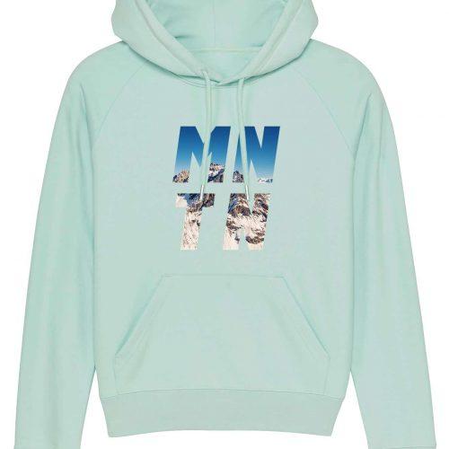 Mountain - Damen Premium-Hoodie - Karibik Blau - XL