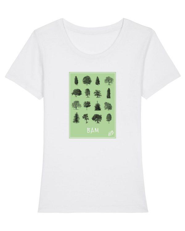 Bam - Damen Premium T-Shirt - Weiß - XXL