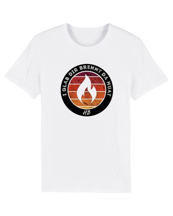 I Glab Dir Brennt Da Huat - Herren Premium T-Shirt - Weiß - 3XL