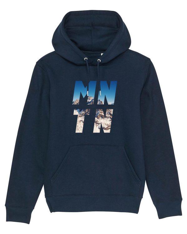 Mountain - Herren Premium Hoodie - Dunkelblau - 3XL