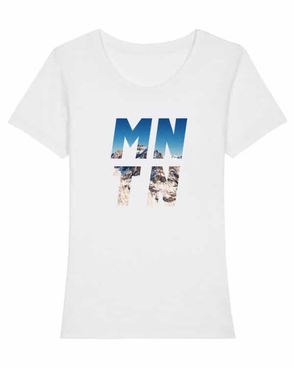 Mountain - Damen Premium T-Shirt - Weiß - XXL
