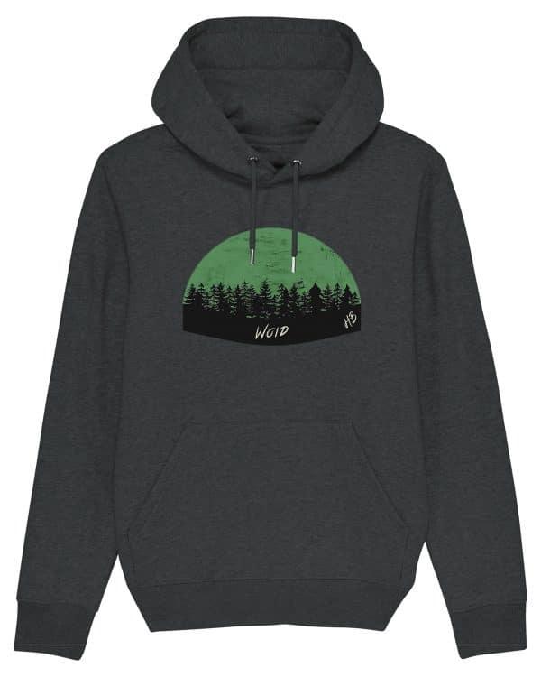 Woid - Herren Premium Hoodie - Dunkelgrau Gesprenkelt - 3XL