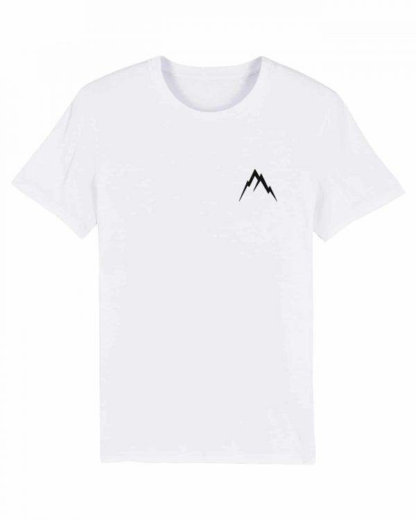 Gipfel-Glück Stickmotiv - Herren Premium T-Shirt - Weiss - 3XL