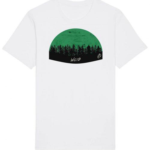 Woid - Herren Basic T-Shirt - Weiss - 4XL
