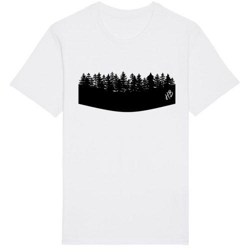 Woidrand - Herren Basic T-Shirt - Weiss - 4XL