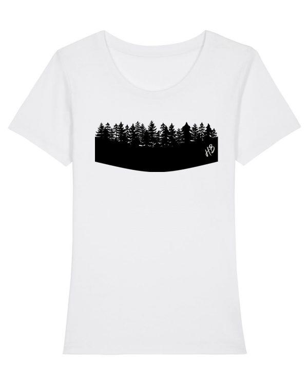 Woidrand - Damen Premium T-Shirt - Weiss - XXL
