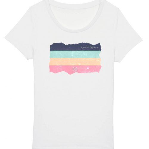 Locka Bleim - Damen Basic T-Shirt - Weiss - XXL