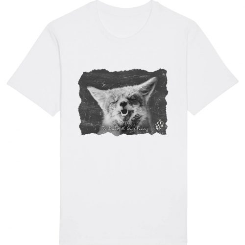 Du Machst Mi Ganz Fuchsig - Herren Basic T-Shirt - Weiß - 4XL