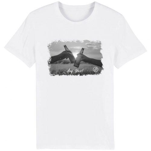Auf Uns - Herren Premium T-Shirt - Weiß - 3XL