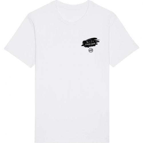 Du+I = Fetzn Gaude - Herren Basic T-Shirt - Weiß - 4XL