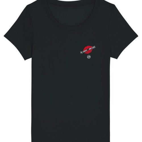 Less Worries - More Bussis  - Damen Basic T-Shirt - Schwarz - XXL